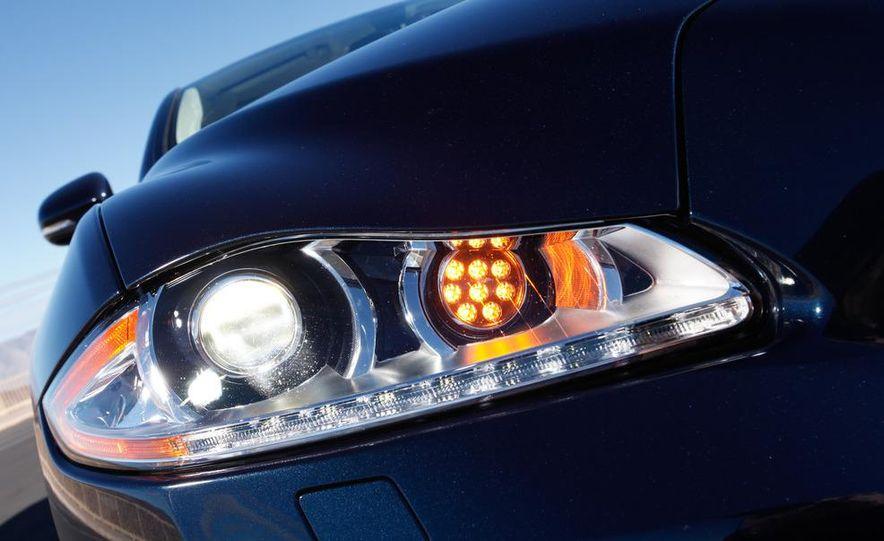 2011 Jaguar XJL Supercharged, 2011 Audi A8L, and 2011 BMW 750Li - Slide 42