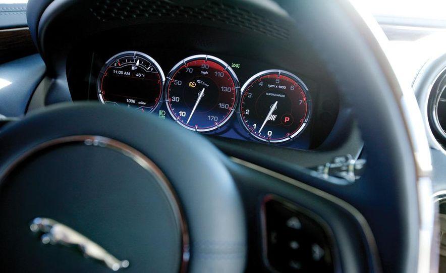 2011 Jaguar XJL Supercharged, 2011 Audi A8L, and 2011 BMW 750Li - Slide 46