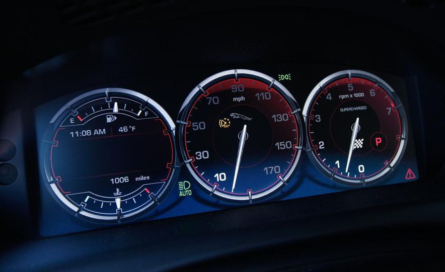 2011 Jaguar XJL Supercharged, 2011 Audi A8L, and 2011 BMW 750Li - Slide 51