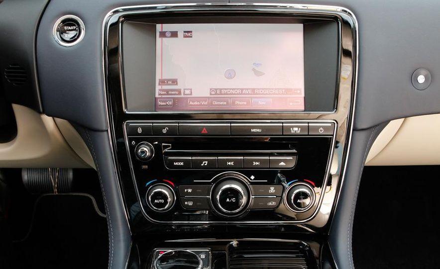 2011 Jaguar XJL Supercharged, 2011 Audi A8L, and 2011 BMW 750Li - Slide 47