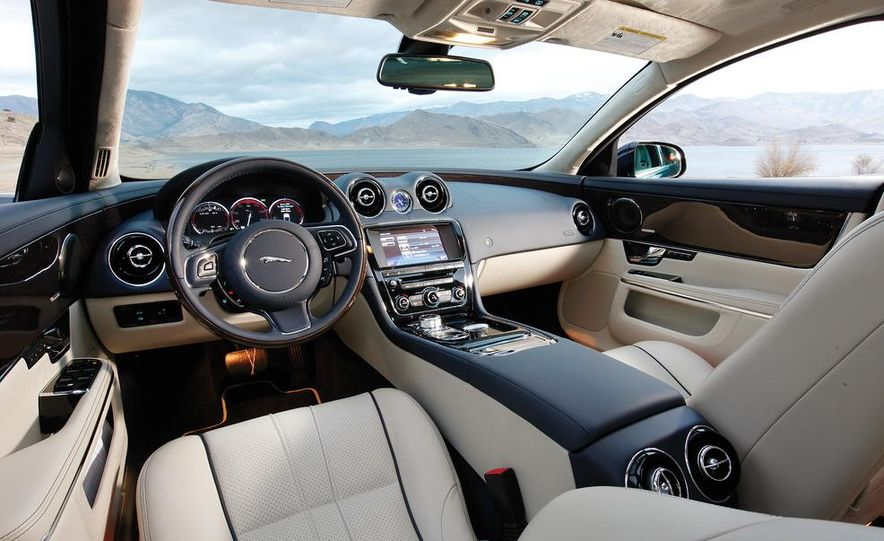 2011 Jaguar XJL Supercharged, 2011 Audi A8L, and 2011 BMW 750Li - Slide 44