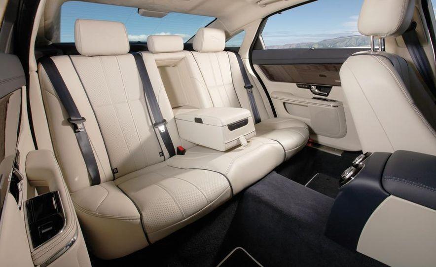2011 Jaguar XJL Supercharged, 2011 Audi A8L, and 2011 BMW 750Li - Slide 45