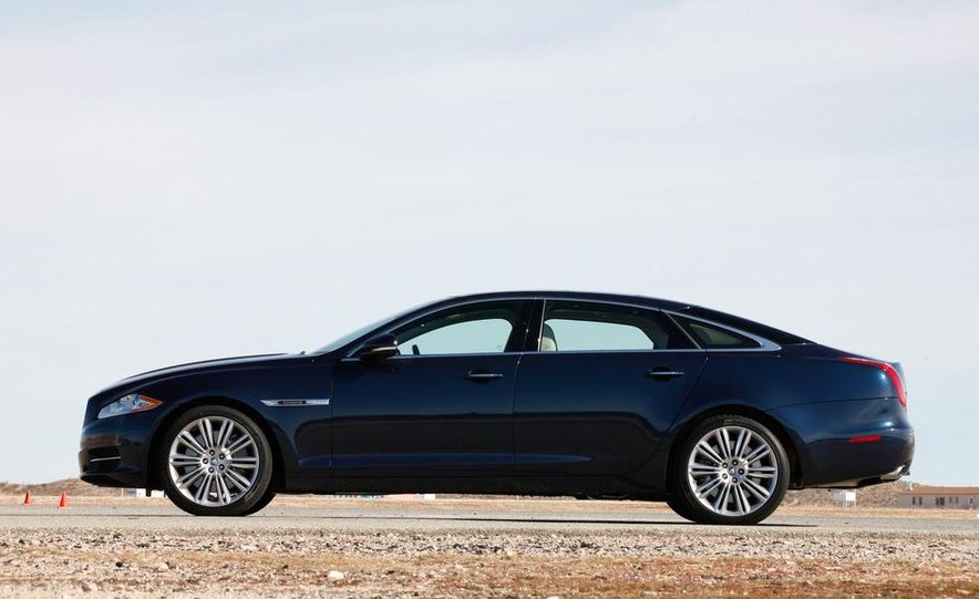 2011 Jaguar XJL Supercharged, 2011 Audi A8L, and 2011 BMW 750Li - Slide 27