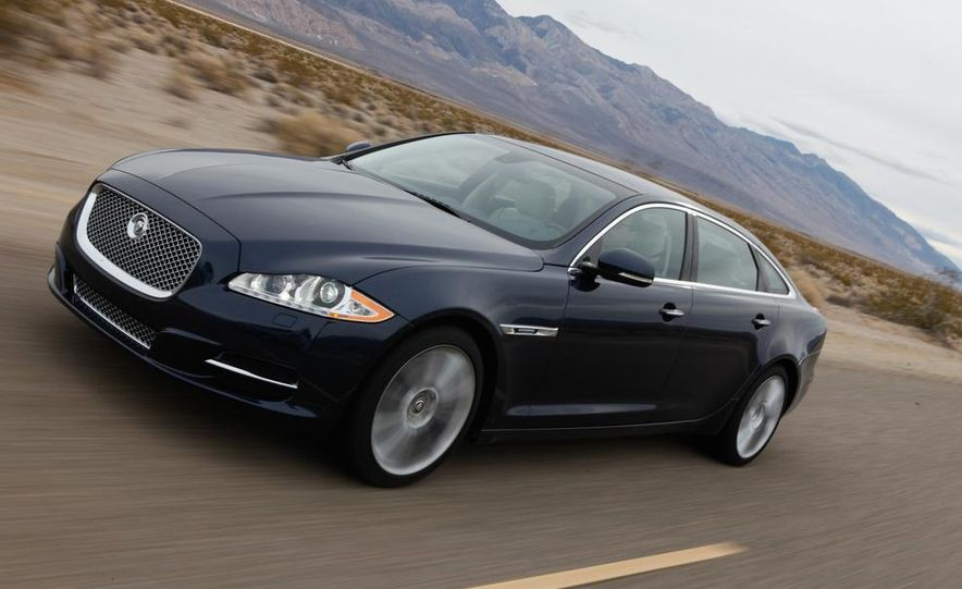 2011 Jaguar XJL Supercharged, 2011 Audi A8L, and 2011 BMW 750Li - Slide 28