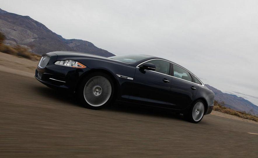 2011 Jaguar XJL Supercharged, 2011 Audi A8L, and 2011 BMW 750Li - Slide 29