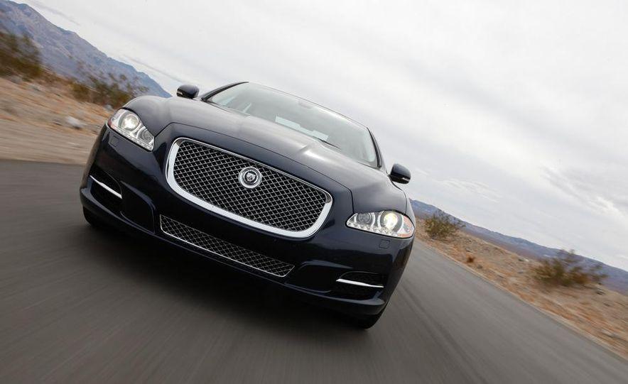 2011 Jaguar XJL Supercharged, 2011 Audi A8L, and 2011 BMW 750Li - Slide 30