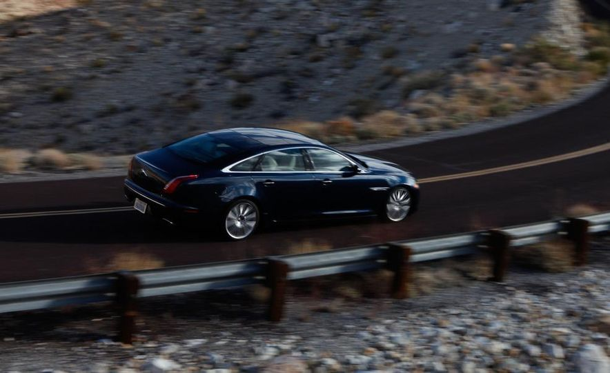 2011 Jaguar XJL Supercharged, 2011 Audi A8L, and 2011 BMW 750Li - Slide 33
