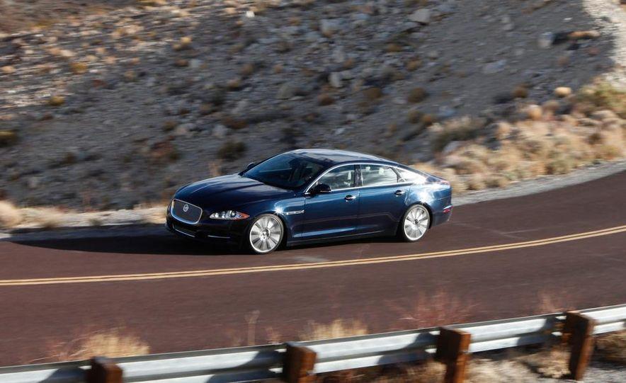 2011 Jaguar XJL Supercharged, 2011 Audi A8L, and 2011 BMW 750Li - Slide 34