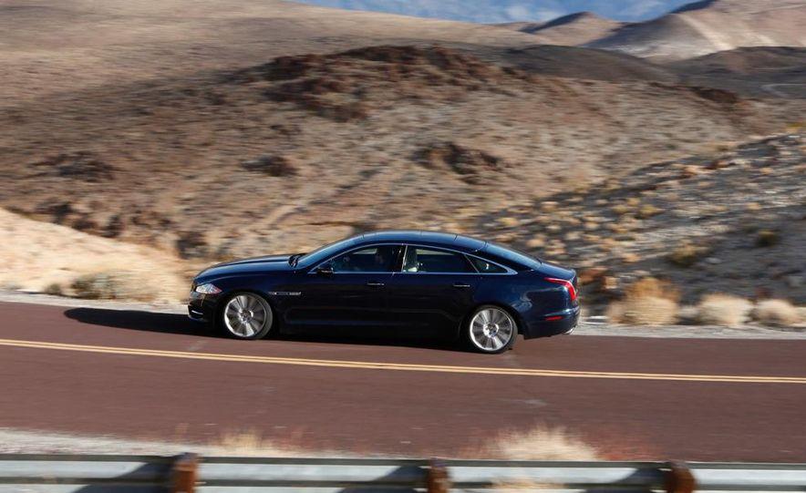 2011 Jaguar XJL Supercharged, 2011 Audi A8L, and 2011 BMW 750Li - Slide 35