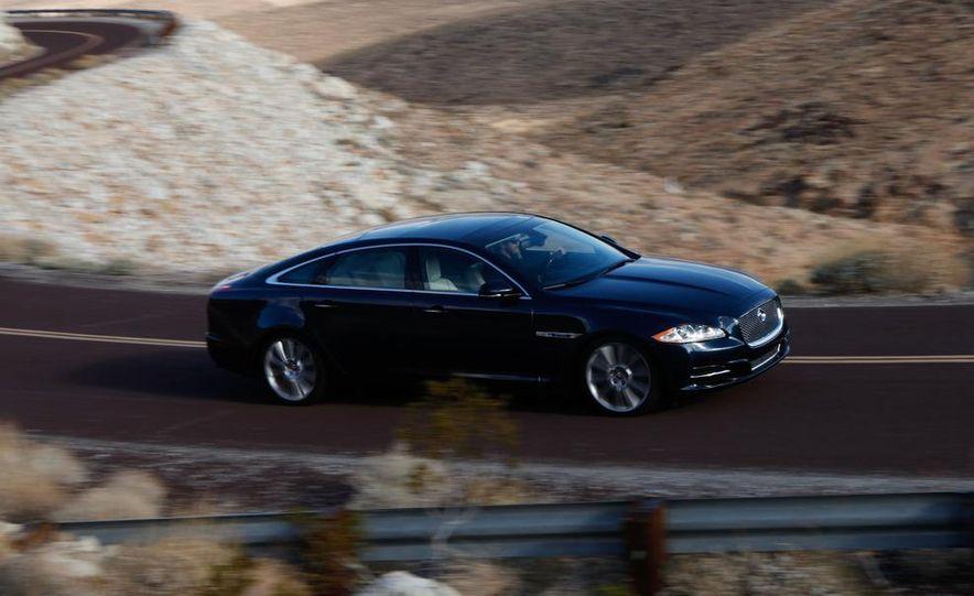 2011 Jaguar XJL Supercharged, 2011 Audi A8L, and 2011 BMW 750Li - Slide 36