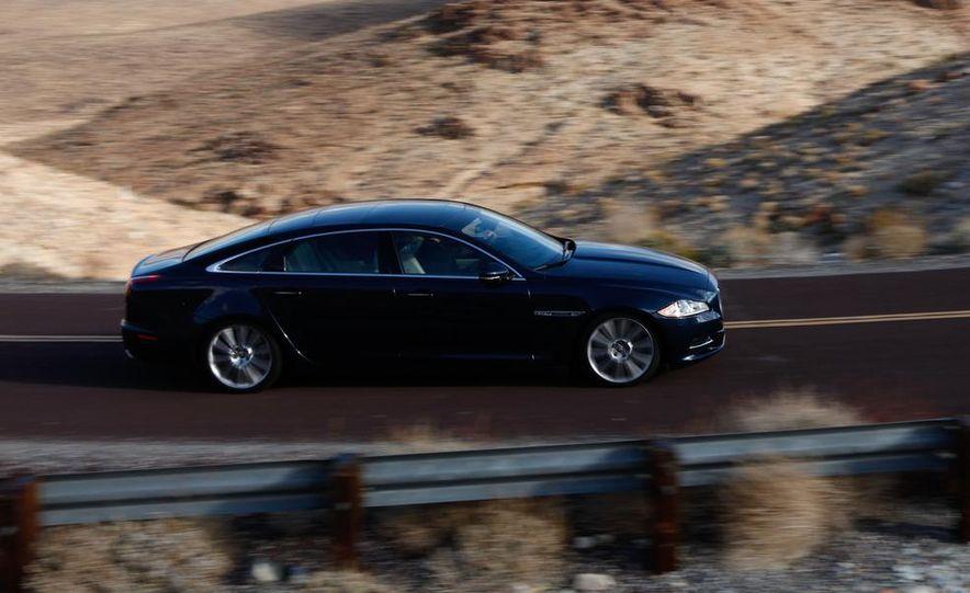 2011 Jaguar XJL Supercharged, 2011 Audi A8L, and 2011 BMW 750Li - Slide 37