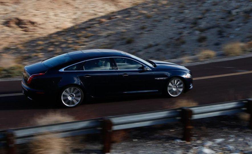 2011 Jaguar XJL Supercharged, 2011 Audi A8L, and 2011 BMW 750Li - Slide 38