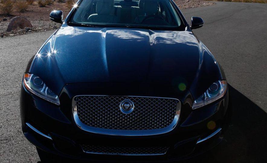 2011 Jaguar XJL Supercharged, 2011 Audi A8L, and 2011 BMW 750Li - Slide 39