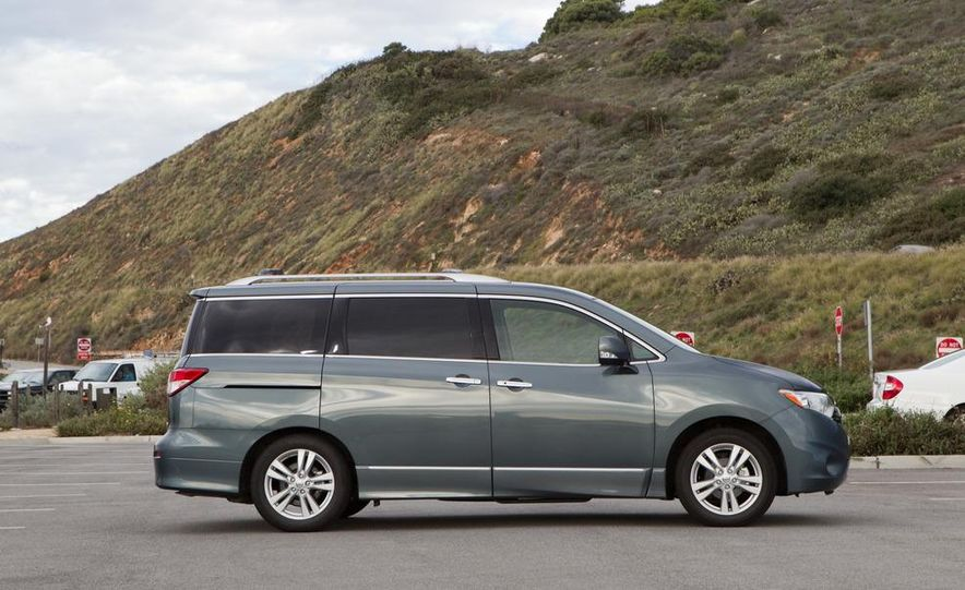 2011 Nissan Quest LE, 2011 Chrysler Town & Country Limited, 2011 Toyota Sienna Limited, 2011 Honda Odyssey Touring Elite - Slide 37