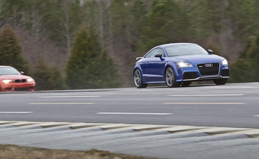 2012 Audi TT RS (Euro-spec), 2011 BMW 1-series M coupe, and 2011 Infiniti IPL G coupe - Slide 14
