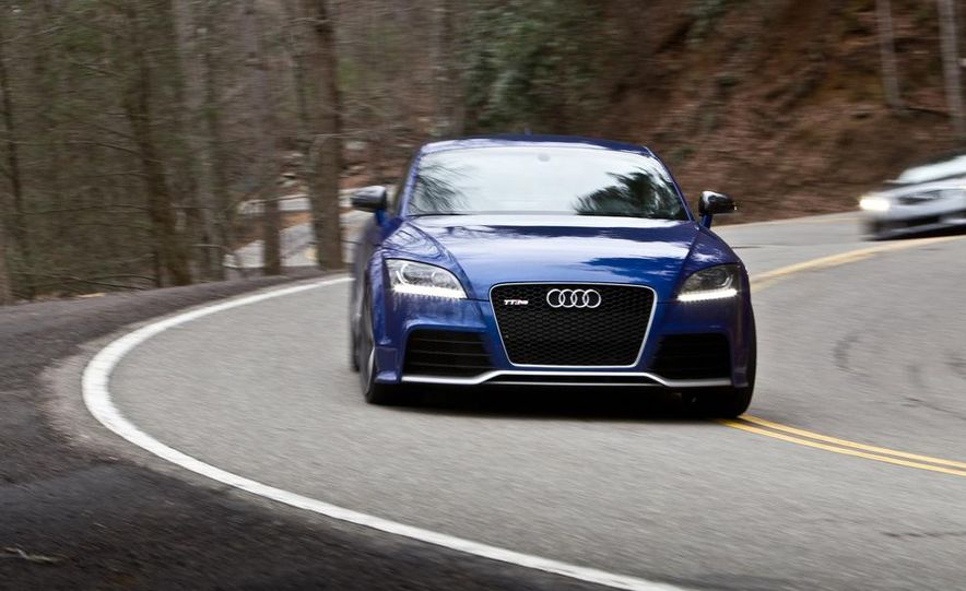 2012 Audi TT RS (Euro-spec), 2011 BMW 1-series M coupe, and 2011 Infiniti IPL G coupe - Slide 75