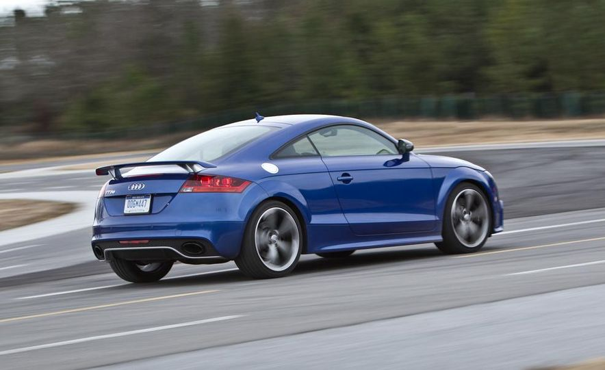 2012 Audi TT RS (Euro-spec), 2011 BMW 1-series M coupe, and 2011 Infiniti IPL G coupe - Slide 79