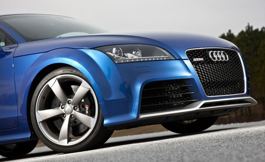 2012 Audi TT RS (Euro-spec), 2011 BMW 1-series M coupe, and 2011 Infiniti IPL G coupe - Slide 82