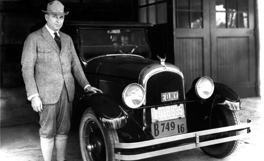 Walter P. Chrysler and the 1924 Chrysler Six - Slide 1