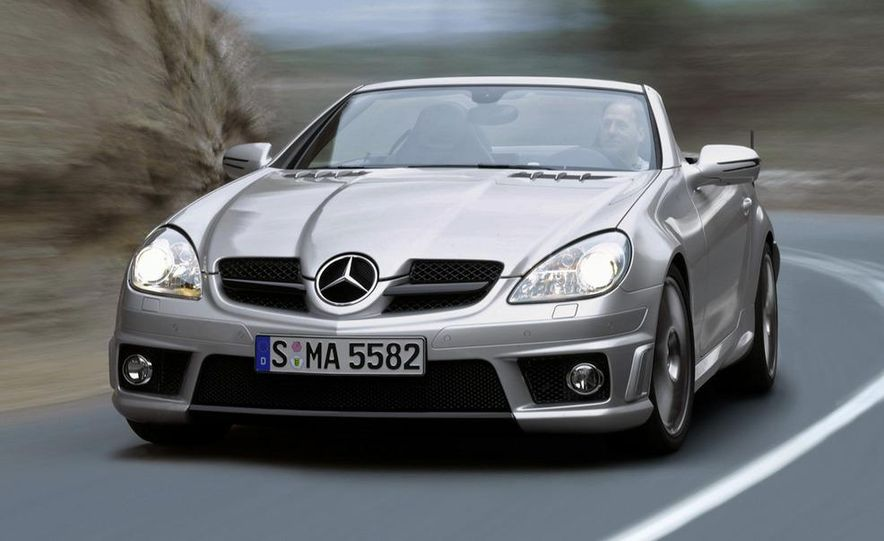 2012 Mercedes-Benz SLK55 / SLK63 AMG (spy photo) - Slide 51