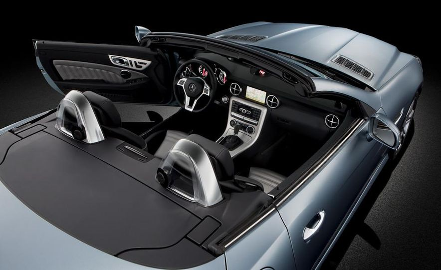 2012 Mercedes-Benz SLK55 / SLK63 AMG (spy photo) - Slide 27
