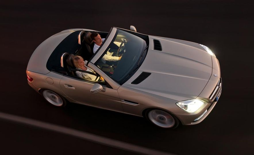 2012 Mercedes-Benz SLK55 / SLK63 AMG (spy photo) - Slide 13