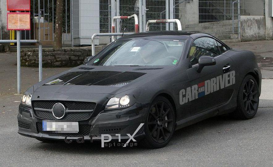 2012 Mercedes-Benz SLK55 / SLK63 AMG (spy photo) - Slide 3