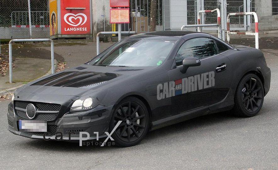 2012 Mercedes-Benz SLK55 / SLK63 AMG (spy photo) - Slide 4