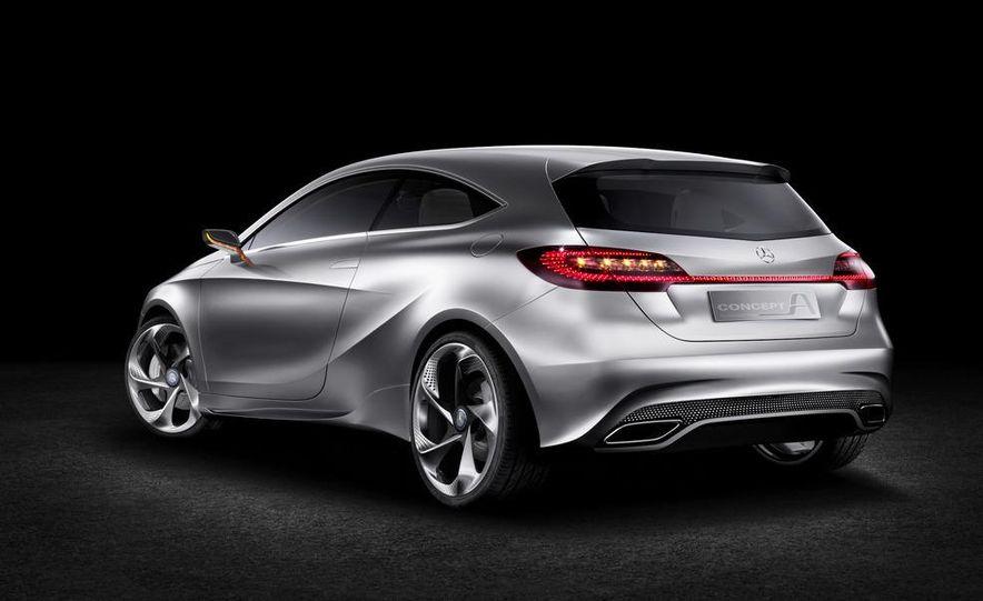 Mercedes-Benz A-class concept - Slide 17
