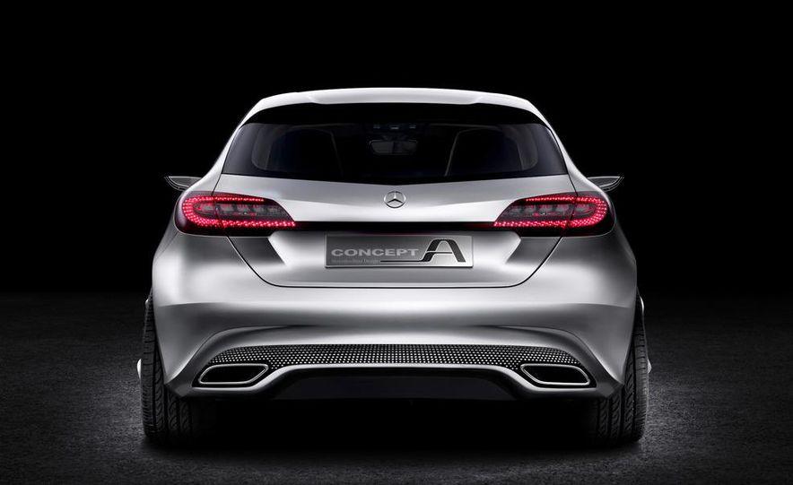 Mercedes-Benz A-class concept - Slide 18