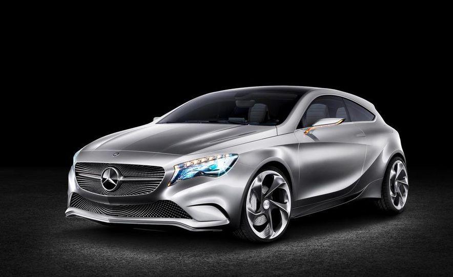 Mercedes-Benz A-class concept - Slide 16