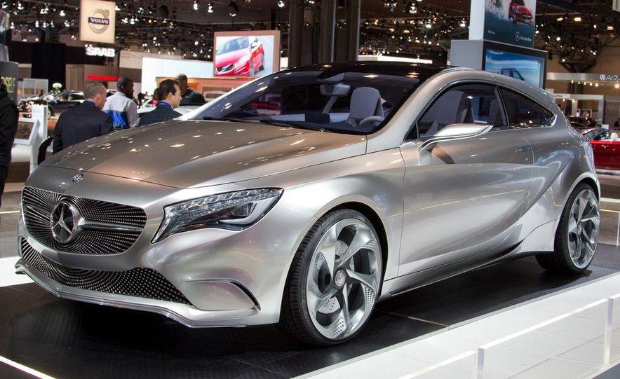 Mercedes-Benz A-class concept - Slide 1