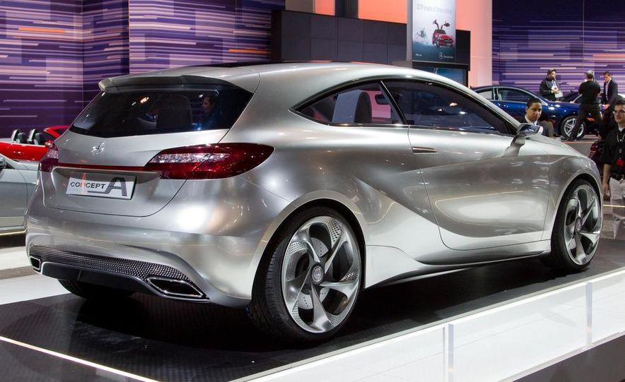 Mercedes-Benz A-class concept - Slide 2