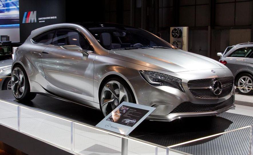 Mercedes-Benz A-class concept - Slide 4