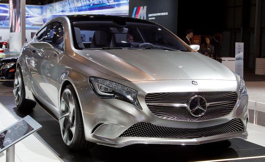 Mercedes-Benz A-class concept - Slide 5