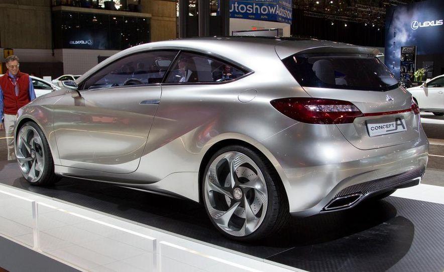 Mercedes-Benz A-class concept - Slide 8