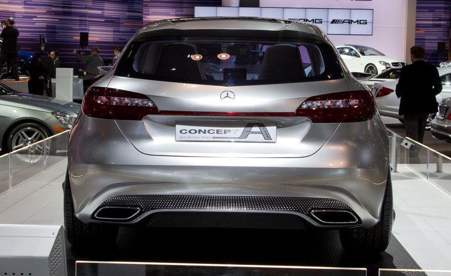 Mercedes-Benz A-class concept - Slide 9