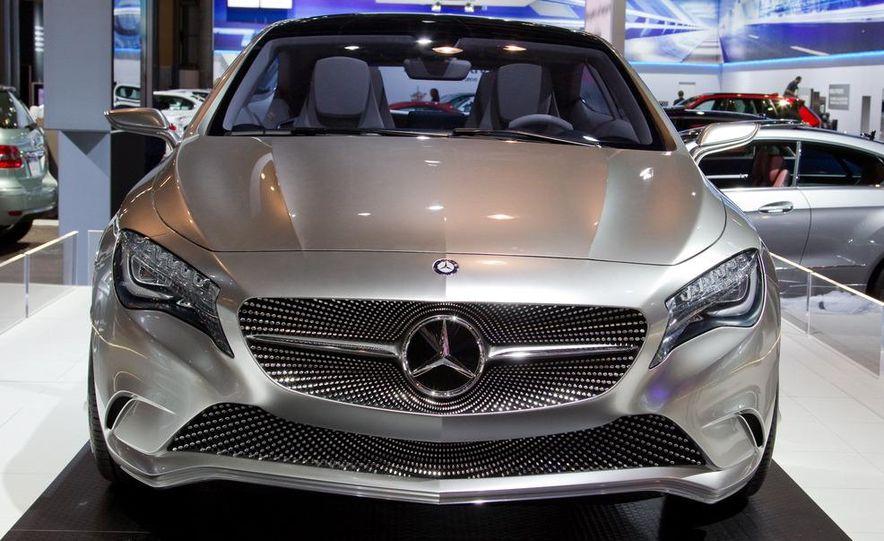 Mercedes-Benz A-class concept - Slide 11