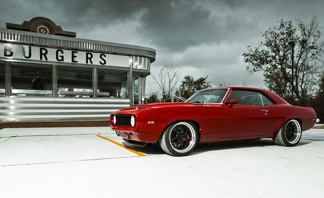 1969 Chevrolet Camaro Red Devil Pro Touring Review Car And Driver