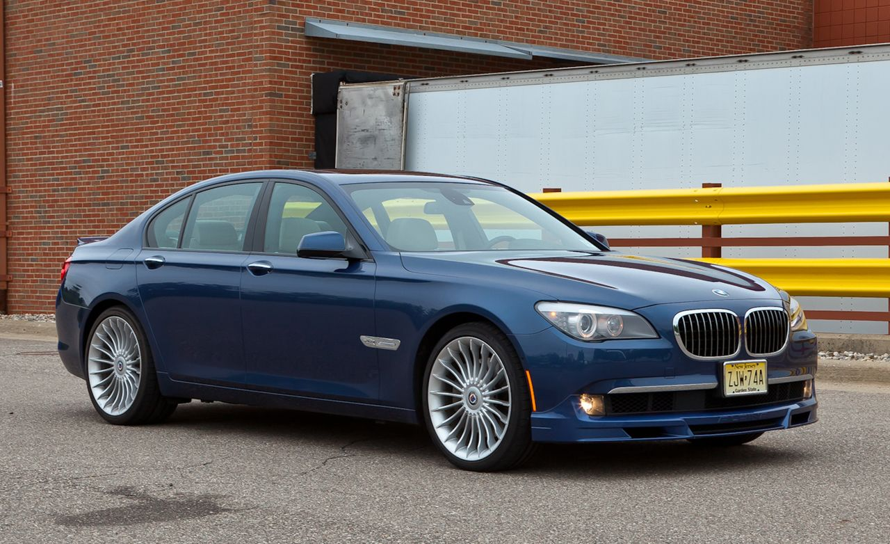 2011 BMW Alpina B7 xDrive Test