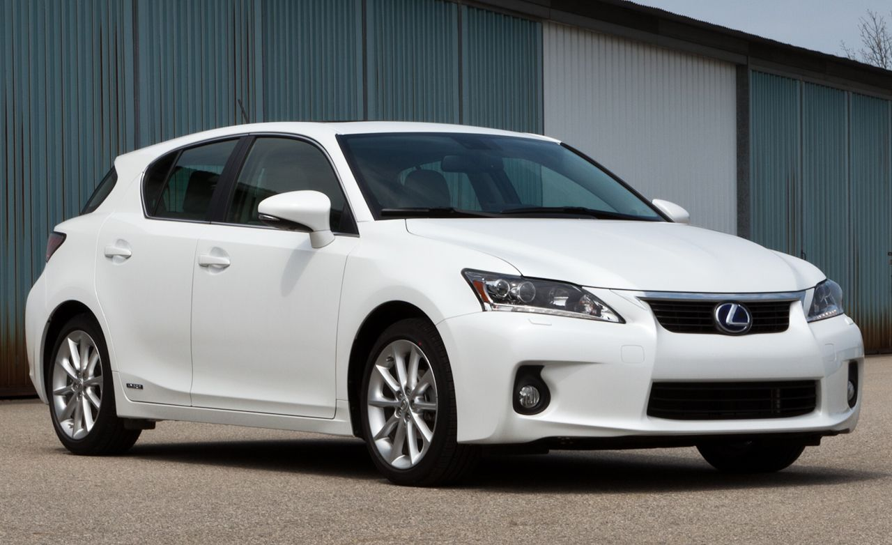 2011 lexus ct200h road test review car and driver
