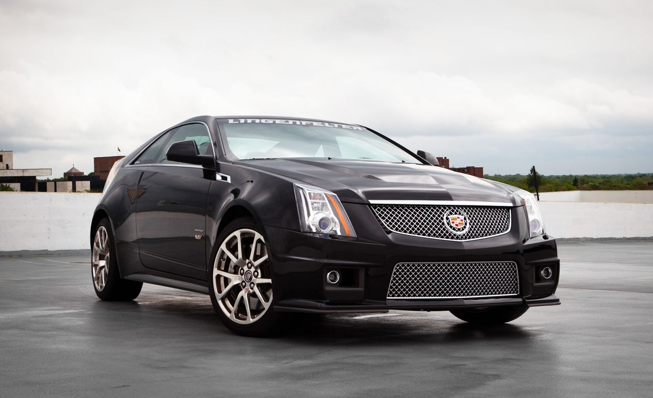 2011 Lingenfelter Cadillac Cts V Road Test Review Car And Driver