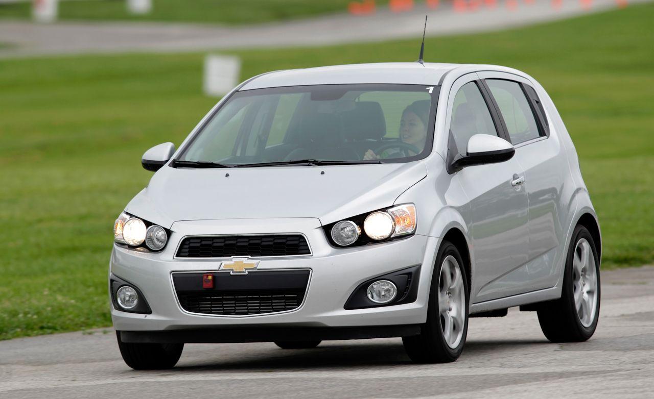 2012 chevrolet sonic new cars car and driver rh caranddriver com