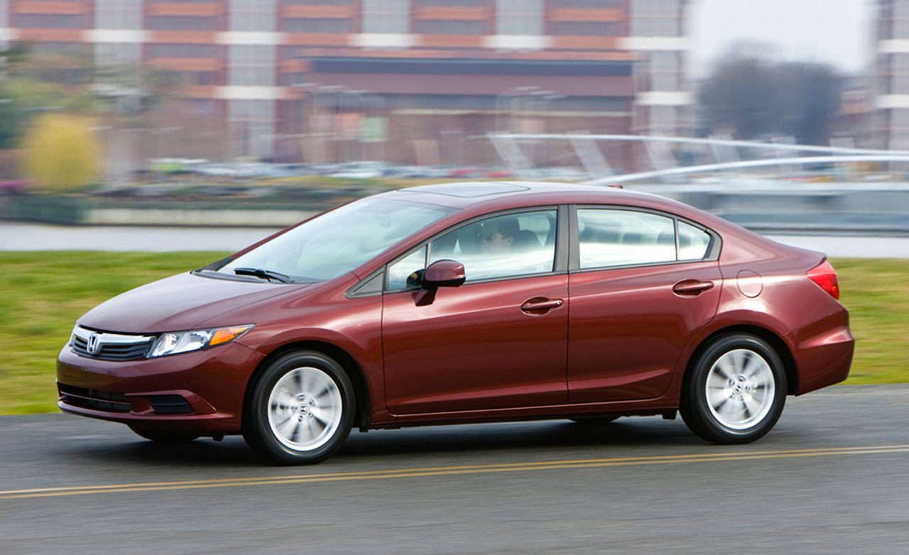 2012 Honda Civic Sedan And Coupe