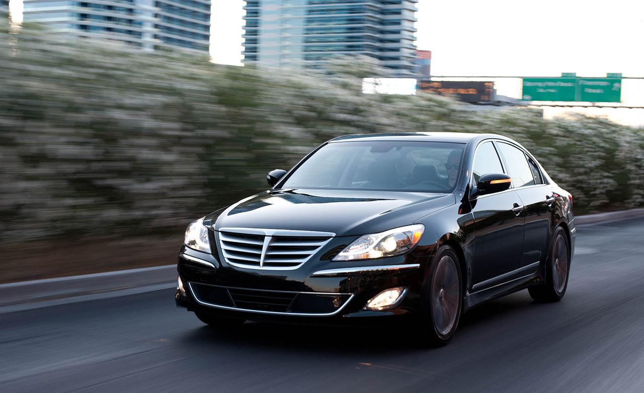 2012 hyundai genesis r spec 5 0 first drive review car and driver. Black Bedroom Furniture Sets. Home Design Ideas