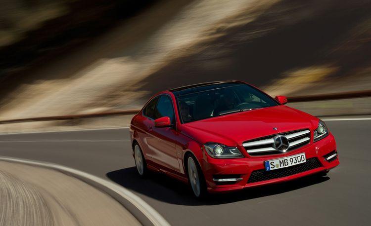 2012 Mercedes-Benz C-class / C250 / C350 Coupe