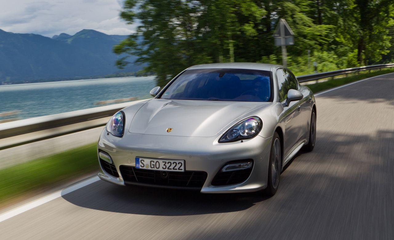 Porsche panamera reviews 2012