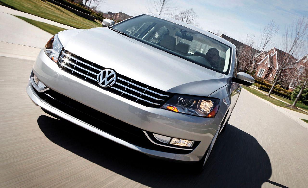 2012 volkswagen passat first drive ndash review ndash car and driver