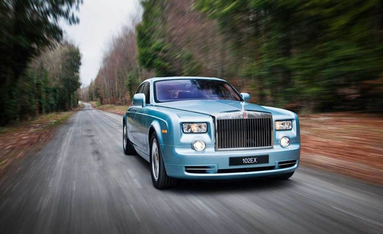 Rolls-Royce Phantom Experimental Electric / 102EX