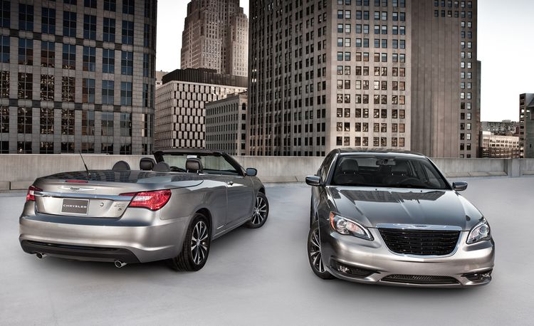 2011 Chrysler 200 S Sedan and Convertible